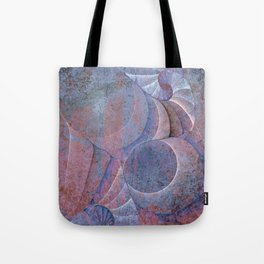 Fossilized Shells Tote Bag