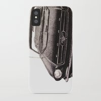 mustang iPhone & iPod Cases featuring Mustang by Lindsay Carter