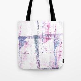 Red blue watercolor Tote Bag