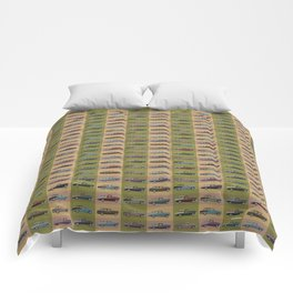 Chevy Nomad Pattern Comforters