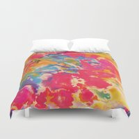 tie dye Duvet Covers featuring Tie Dye by The Dope Scope