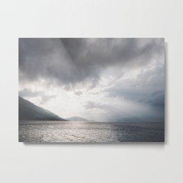 Light and Lochs, Scotland | landscape - nature - poster - print - light - pattern - sky - photo Metal Print