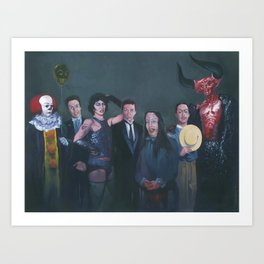 A Cast of Currys Art Print