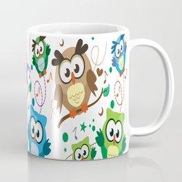 CUTE PLAYFUL OWL Coffee Mug
