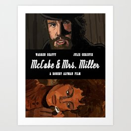 McCabe & Mrs. Miller Art Print