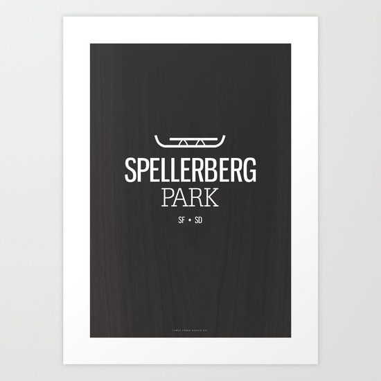 Spellerberg Park Art Print
