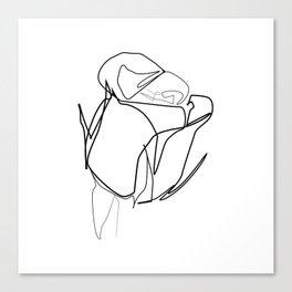 """ Botanical Collection "" - Rose Canvas Print"