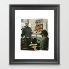 Everyone Watches Everyone Framed Art Print