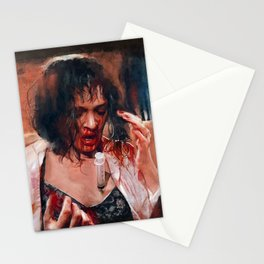 Adrenaline Shot - Mia Wallace - Pulp Fiction Stationery Cards