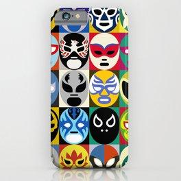 Lucha Libre 2 iPhone Case