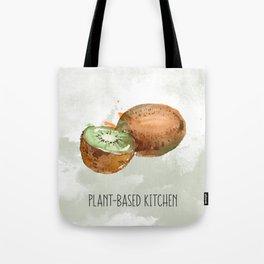 Plant-Based Kitchen Kiwi Tote Bag