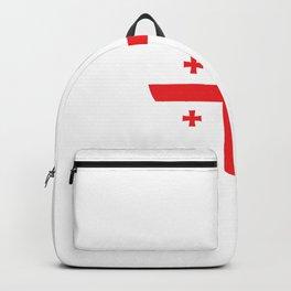 Georgia  love flag heart designs  Backpack