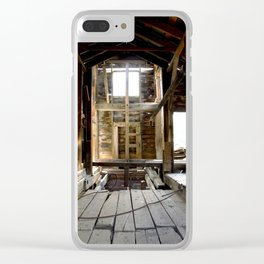 Exploring the Longfellow Mine of the Gold Rush - A Series, No. 4 of 9 Clear iPhone Case