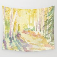 forrest Wall Tapestries featuring Forrest by Susie McColgan