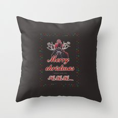 I wanna wish you Merry Christmas.. Throw Pillow