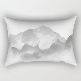 miss colored mountains Rectangular Pillow