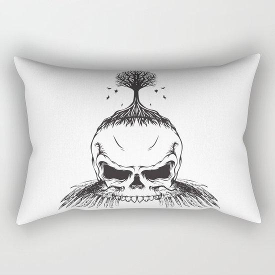 The Fall of Earth Rectangular Pillow