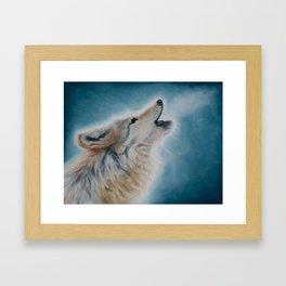 Wolf Mist Framed Art Print