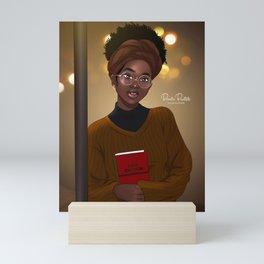 I AM ENOUGH by Bennie Buatsie Mini Art Print