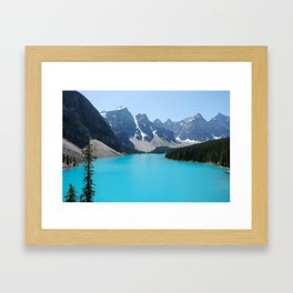 Moraine Lake, Banff Canada Framed Art Print