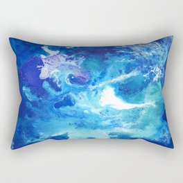 Nihal - Abstract Costellation Painting Rectangular Pillow