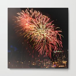 Firework collection 13 Metal Print
