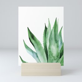 Agave Plant. Mini Art Print