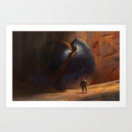 The Orb Art Print