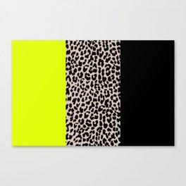 Leopard National Flag V Canvas Print