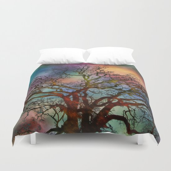 Last Moments Before Darkness Duvet Cover