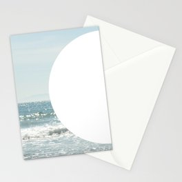 Not even the sun, Not even the moon ( - space ) Stationery Cards