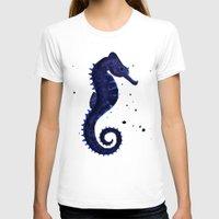 sea horse T-shirts featuring Sea Horse by Chrystal Elizabeth