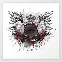 Cullenite Crest  Art Print