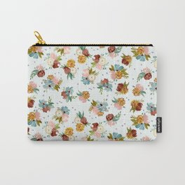 PASTEL FLORALS Carry-All Pouch