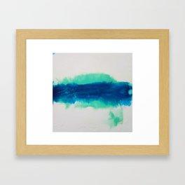 walk the line Framed Art Print