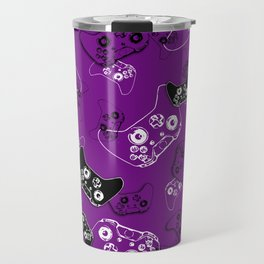 Video Game Purple Travel Mug