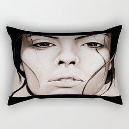 See through the sorrow in my eyes Rectangular Pillow