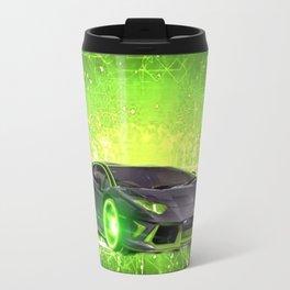 Tronic Green Sports Car Travel Mug