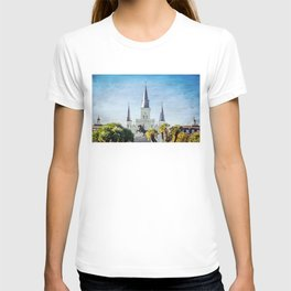 Jackson Square New Orleans T-shirt