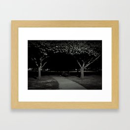 midnight sleeper Framed Art Print