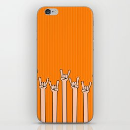 Born to rock iPhone Skin