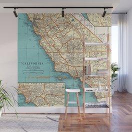 So Cal Surf Map Wall Mural