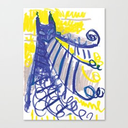 Bat Mountain Canvas Print