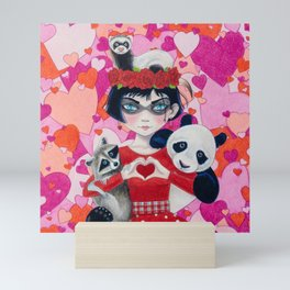 Love Bandits Mini Art Print