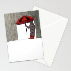 Hard Rain #3 Stationery Cards