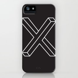 The X iPhone Case