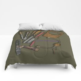 woodworking shop Comforters