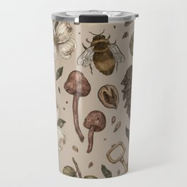 Nature Walks (Light Background) Travel Mug