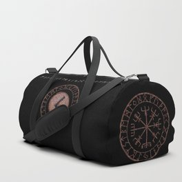 Kenaz elder futhark rune Vision, revelation, knowledge, creativity, inspiration, technical ability. Duffle Bag