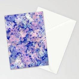 Indigo Evening Floral Stationery Cards